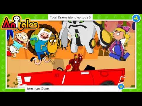 """Anitales: """"Total Drama island episode 5"""" - jake5"""