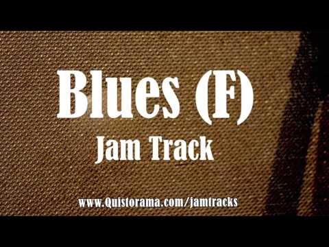 Chicago Blues Backing Track (F)
