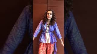 Tapsee Pannu in Galgotia University