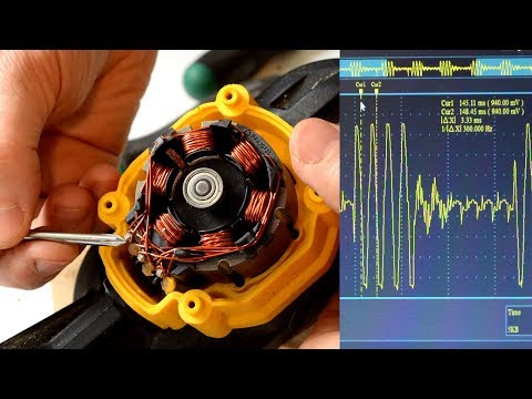 Examining A Brushless DC Motor, And A Dumb Way To Drive One.