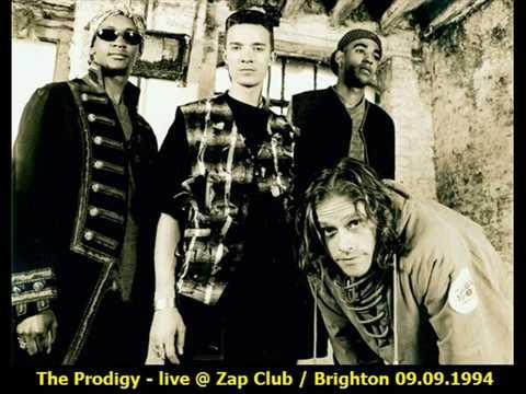 The Prodigy - live @ Zap Club / Brighton 09.09.1994