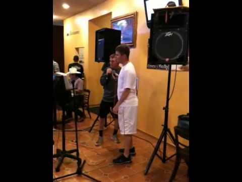 Patriot baseball karaoke