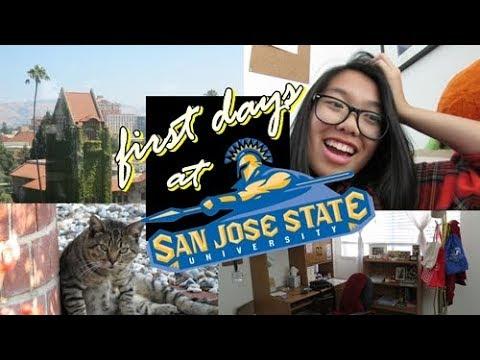FIRST DAYS OF COLLEGE @ SJSU   Alisa's Vlogs
