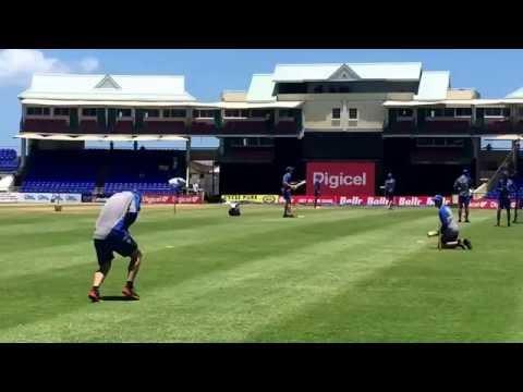 Damien Martyn- Australian Cricket Team Warm Up.
