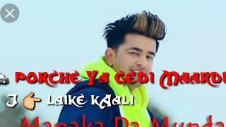 Munda Manaka da||Jass Manak||Whatsapp status