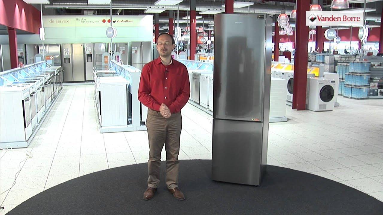 SAMSUNG RB 37 J 5029SS/EF - Combi frigo - congélateur - Notre vidéo ...