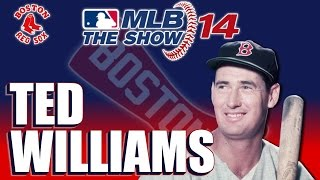 MLB 14 The Show Legends Player Lock: Ted Williams