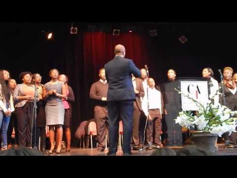 CAU Worship Choir - I Open My Mouth To The Lord [Clark Atlanta University]