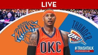 Carmelo Anthony : analyse d'un transfert sismique !