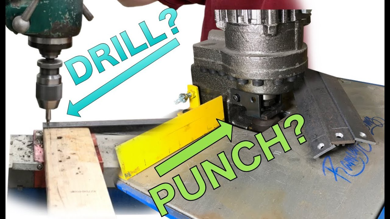 DIY Hydraulic Punch or Drill Press - Fastest way to put holes in metal?