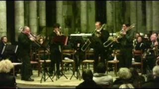 Mambo Rambo par le Bergot Bones Quartet (Trombones)
