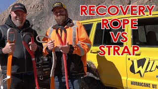 Recovery Rope vs Strap - Matt's Off Road Recovery and MadMatt's experiences
