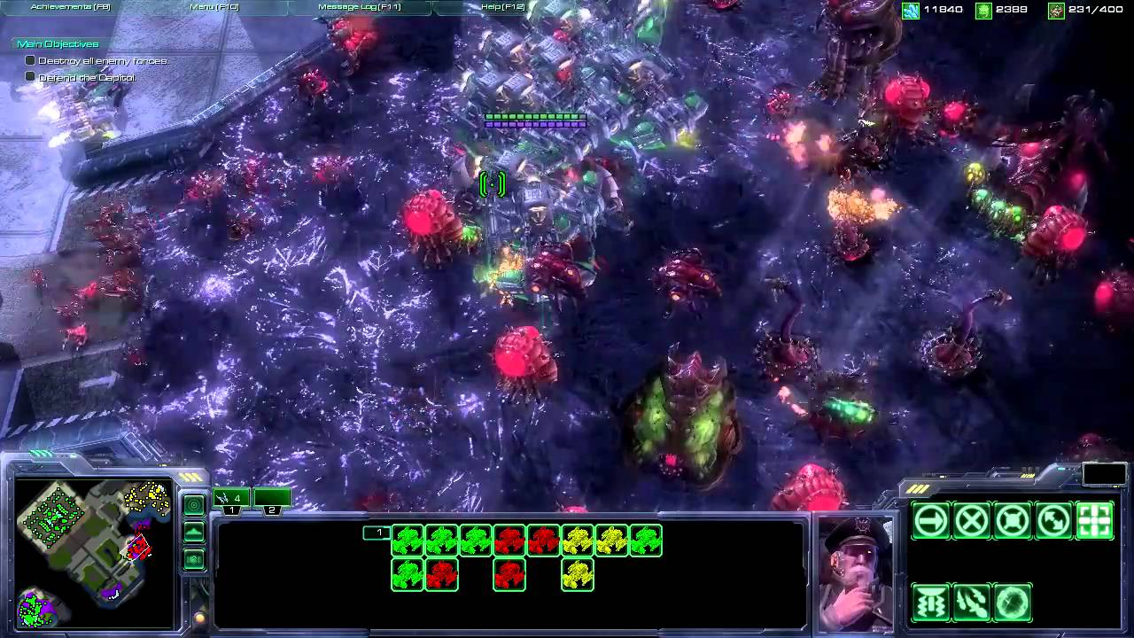 Starcraft 2 MoD - EndGame UED Science Corps (SC2 Epic Games in HD ...