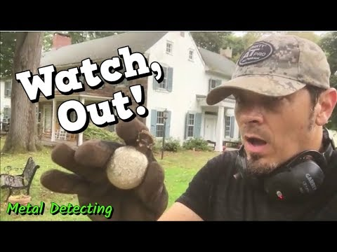 Watch, Out! - Metal Detecting Old Coins & Treasures at another 1700's Colonial Permission