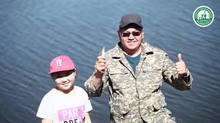 Рибальський турнір ''Золотий поплавок 2018''. Риболовля на озері Очеретяний Рай