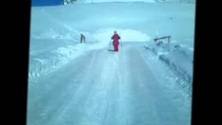 учимся кататься на лыжах