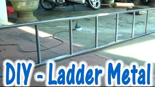 How to make a Metal Ladder at home - Versions Fruit, Funny :))