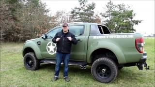 Ford Ranger 2016 - Gummi Fussmatten - Produktvorstellung von Mammut Offroad
