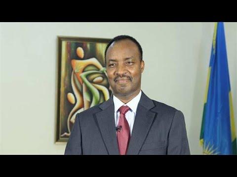 Greetings from Ambassador of Rwanda