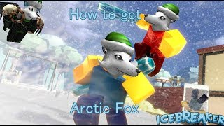 Roblox Holiday Event Icebreaker (Walkthrough) - How to get the Arctic fox