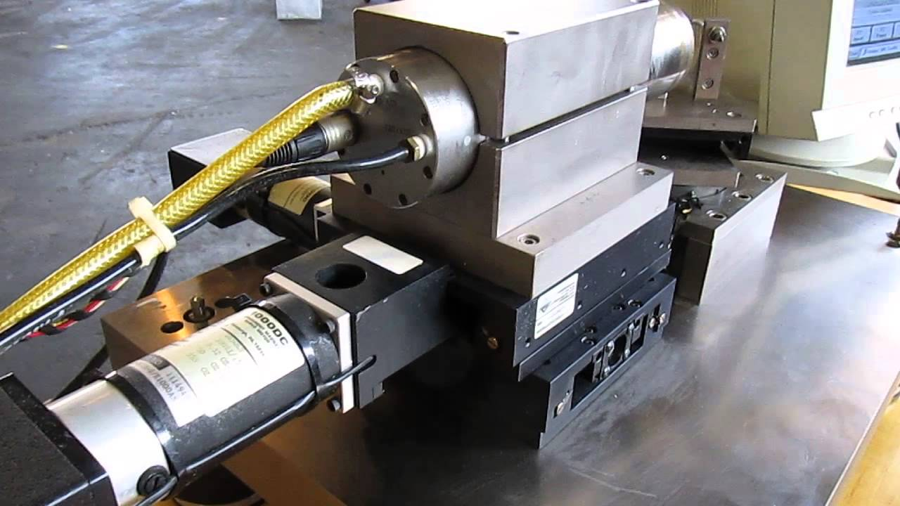 Custom Aerotech 3-axis Cnc Benchtop Lathe
