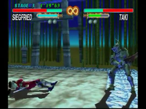 Soul Blade (PS1) Gameplay