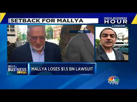 Mallya Loses $1.5 Bn Lawsuit