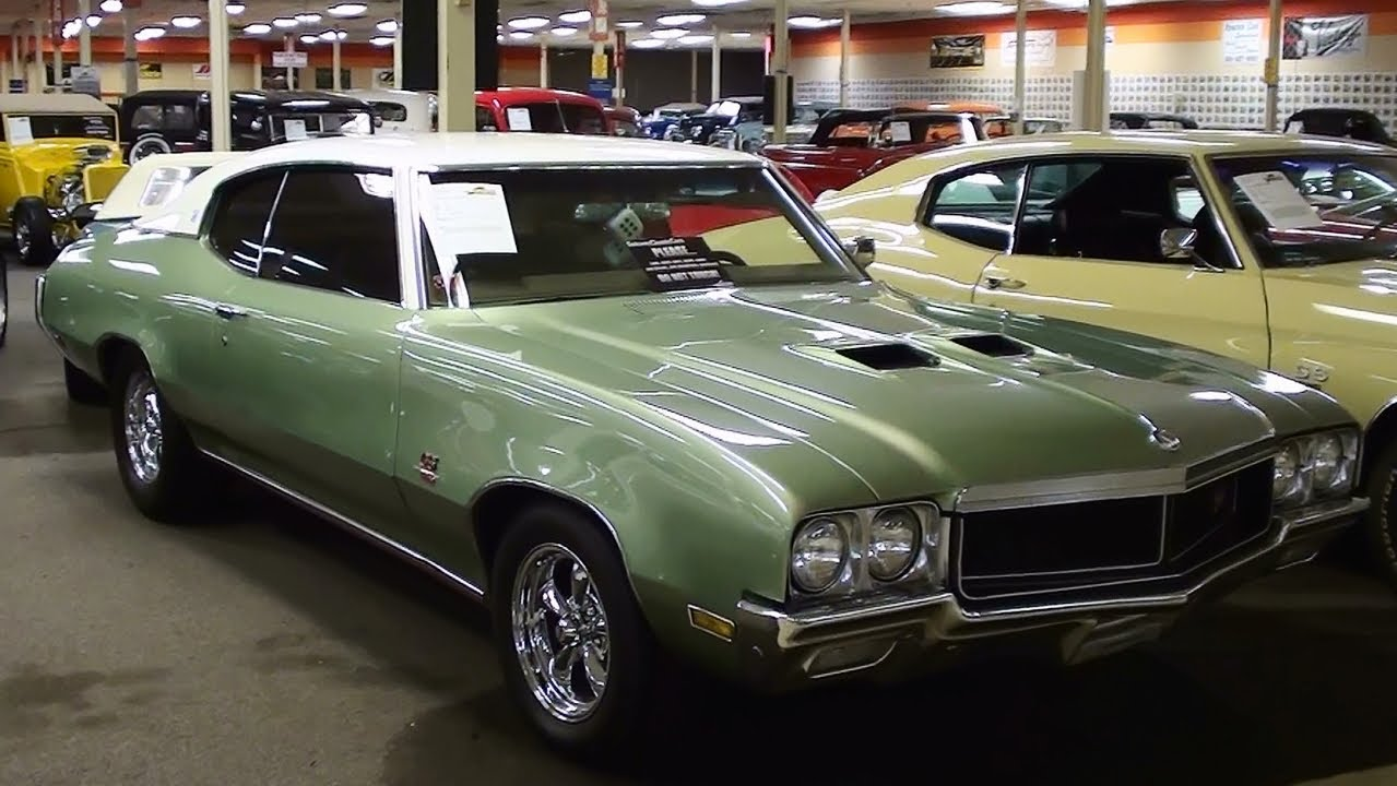 1970 Buick GS 455 V8 Clone - YouTube