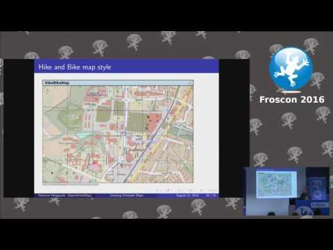 Creating printable maps