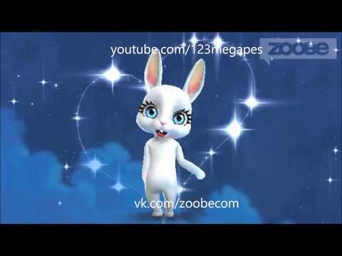 Zoobe Зайка Поздравляю с днем рождения!