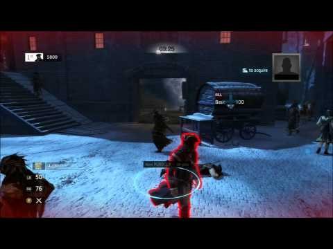 Assassin's Creed 3 Multiplayer - Competitive Assassinate Featuring Evil Assassin (xbox)