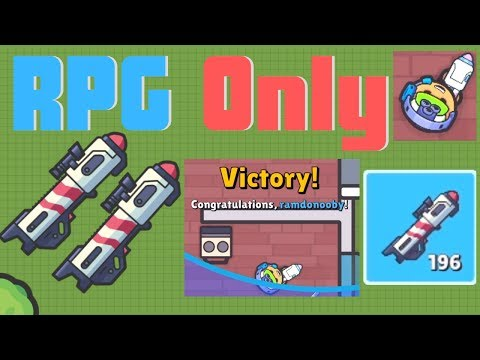 RPG Only Challenge! // Pt. 3 // Zombs Royale.io