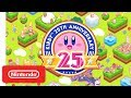 Kirby 25th Anniversary Trailer