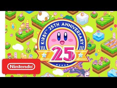 Kirby 25th Anniversary Trailer