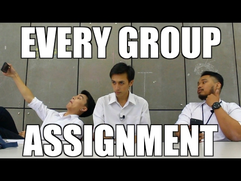EVERY GROUP ASSIGNMENT