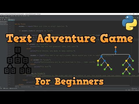 Choose Your Own Adventure Game In Python (Beginners)