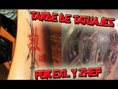 Una tarde de Tatuajes en Rock Tattoo por EXL y Zhep