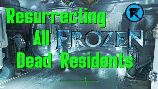 Fallout 4 Resurrecting My Spouse All Frozen Vault 111 Residents