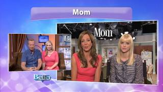 "Allison Janney and Anna Faris talk about the new CBS show ""Mom""."