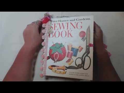 5 ring binder better homes and gardens sewing book junk journal in