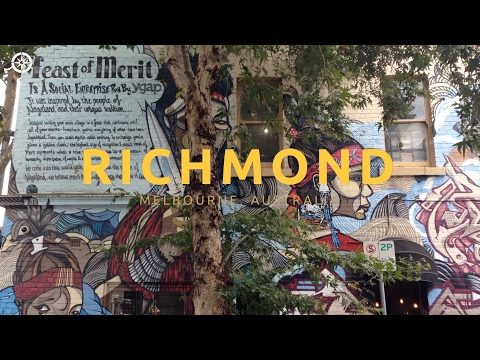 A video guide to the cool Melbourne neighbourhood of Richmond
