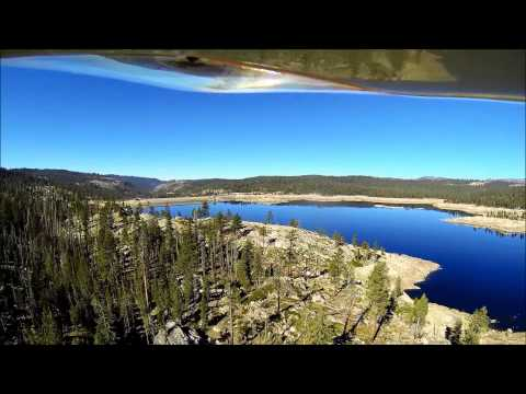 Low Flight Over Spicer Meadows & Donnell Reservoirs