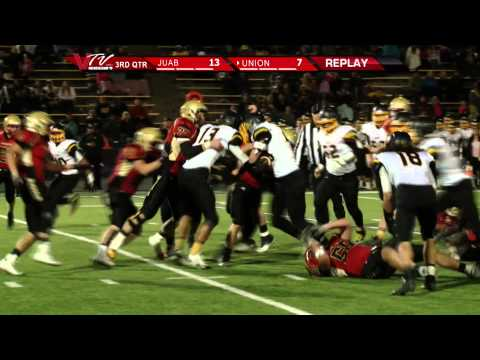 VTV Channel 6 High School Football: Union vs. Juab Semi-Finals 2014