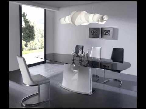 espectaculares mesas de comedor de diseño - YouTube