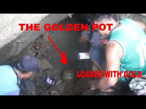 GOLDEN POT FULL OF GIVEAWAYS/ YAMASHITA TREASURE LOADED OF GOLD BARS AND GOLD COINS RECOVERED 2021