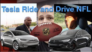 Tesla Ride and Drive NFL Edition