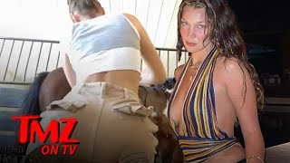 Bella Hadid Shaves Her Horses | TMZ TV