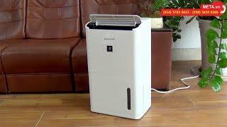 Hướng dẫn sử dụng máy lọc không khí và hút ẩm Sharp DW-D12A-W