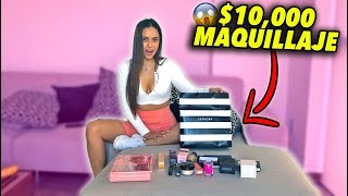 SORPRENDO A MI NOVIA CON $10,000 DE MAQUILLAJE *mira como reacciona*