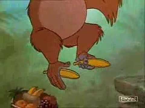 Livre de la jungle - Le roi Louis - YouTube